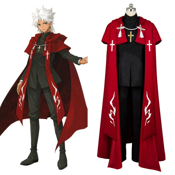 Fate/Apocrypha FA Ruler Amakusa Shiro Cosplay Costume