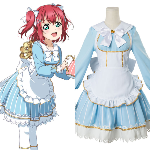 Love Live! Lovelive Ruby Kurosawa Aqours Alice In Wonderland Version Cosplay Costume