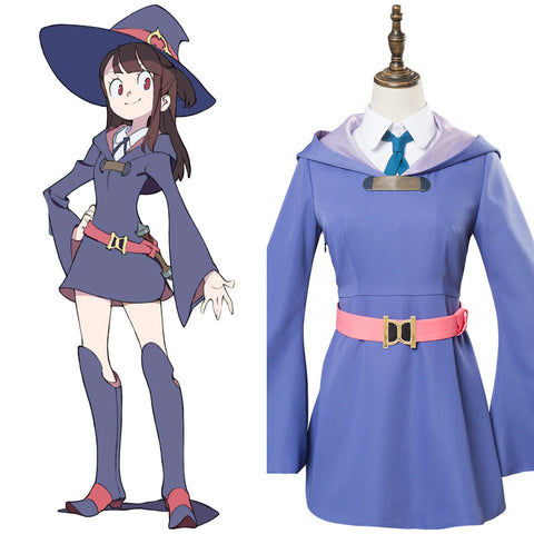 Little Witch Academia Atsuko Cosplay Costume