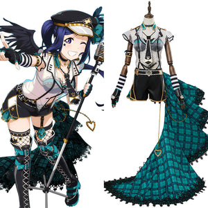 LoveLive Sunshine Kanan Matsuura Punk Rock Cosplay Costume