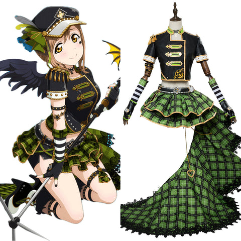 LoveLive Sunshine Kunikida Hanamaru Punk Rock Cosplay Costume