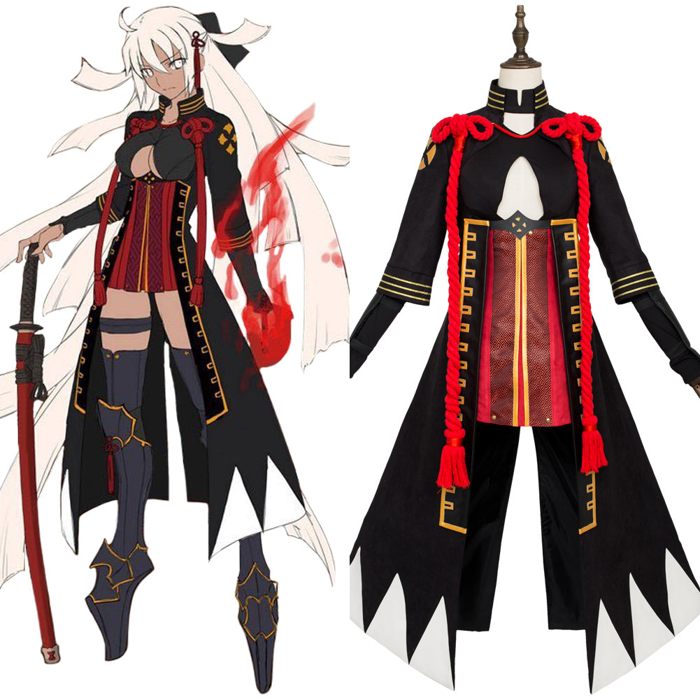 Fate Grand Order Okita Sōji Alter Cosplay Costume