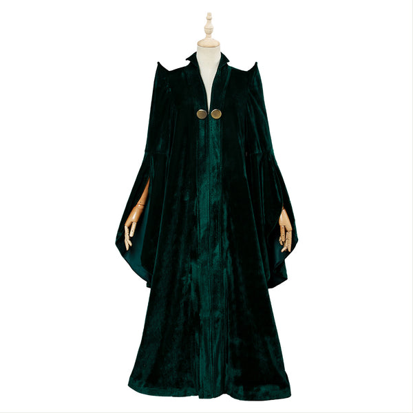 Harry Potter Professeur Minerva McGonagall Robe Cosplay Costume