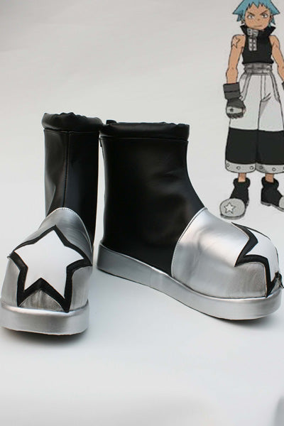 Soul Eater Botte Cosplay Chaussures
