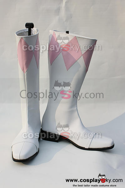 Power Rangers: Mighty Morphin Mei Cosplay Chaussures