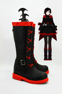 RWBY Red Trailer Ruby Cosplay Chaussures