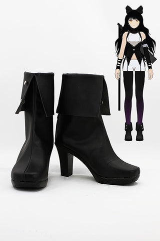 RWBY Black Trailer Blake Belladonna Cosplay Chaussures