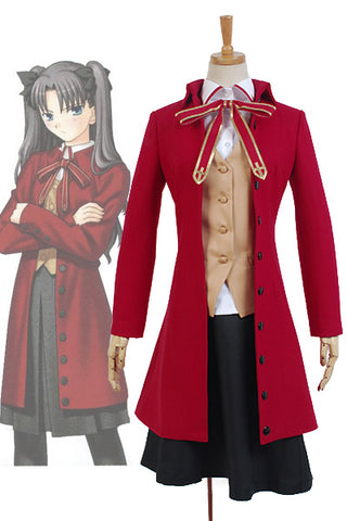 Fate/stay night Rin Tohsaka Uniforme Cosplay Costume