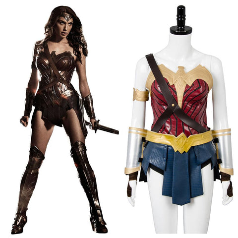 2017 Film Wonder Woman Gal Gadot Diana Cosplay Costume
