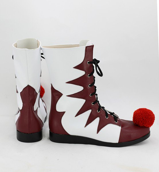 2017 IT Film CA Pennywise The Clown Bottes Cosplay Chassures