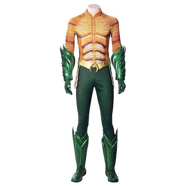 2018 Film Aquaman Arthur Curry Cosplay Costume