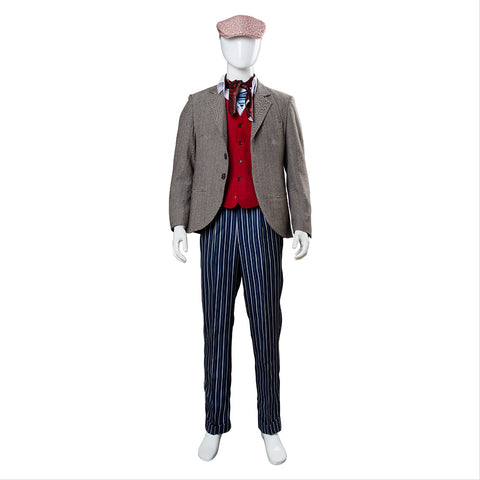 2018 Le Retour de Mary Poppins Jack Cosplay Costume