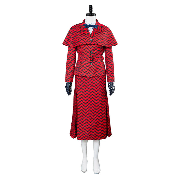 2018 Le Retour de Mary Poppins Mary Poppins Cosplay Costume