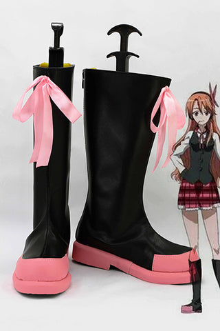 Akame ga KILL! Chelsea Bottes Cosplay Chaussures