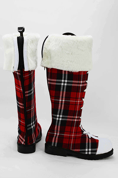 LoveLive! Botte Cosplay Chaussures Noël Version B