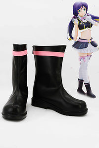 LoveLive! Nozomi Tojo Botte Cosplay Chaussures