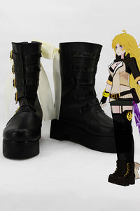 RWBY Yang Xiao Botte Cosplay Chaussures