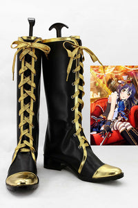 LoveLive! Umi Sonoda Servante Botte Cosplay Chaussures