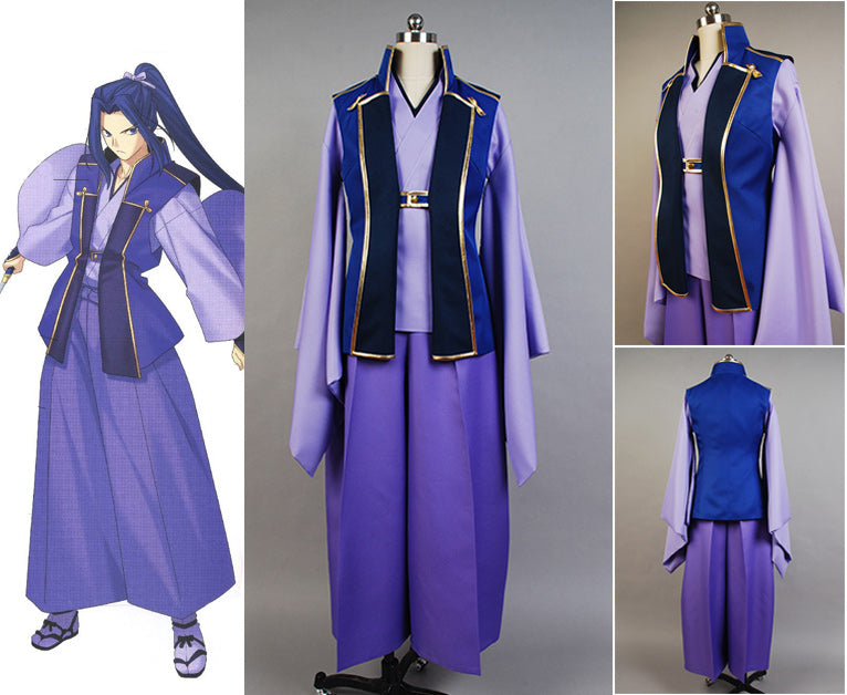 Fate/stay night Assassin Kimono Cosplay Costume