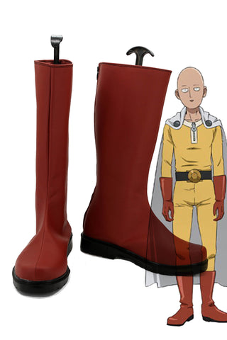 One Punch Man Saitama Cosplay Chaussures