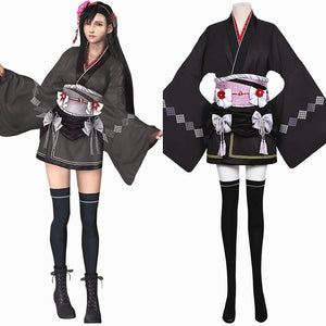 Final Fantasy VII FF7 Remake Tifa Lockhart Kimono Cosplay Costume