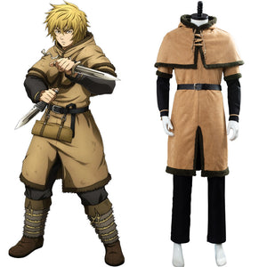 Vinland Saga Thorfinn Viking Pirate Cosplay Costume