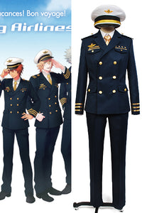 Uta no Prince-sama Shining Airlines Officer Uniforme Costume