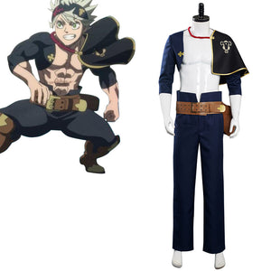 Black Clover S4 Asta Cosplay Costume