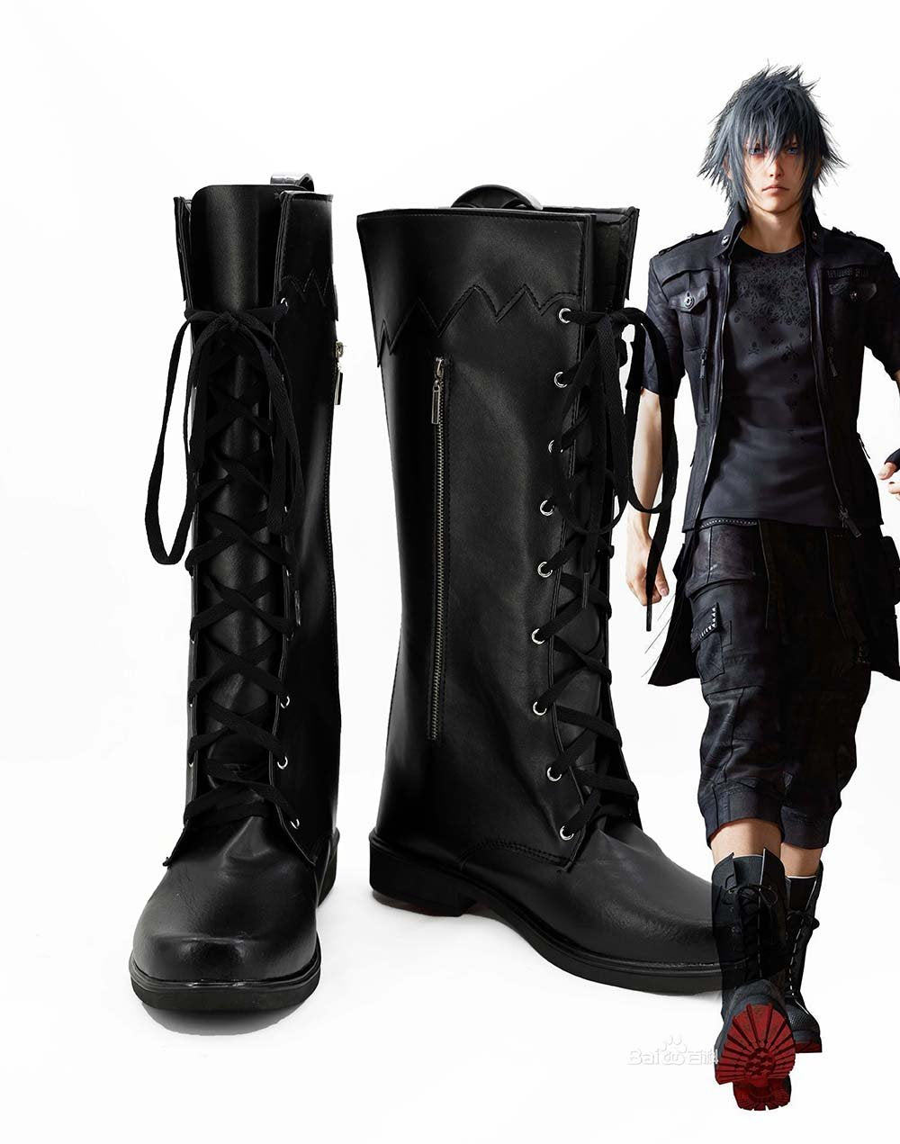 FFXV Final Fantasy XV Noctis Lucis Caelum Cosplay Chaussures
