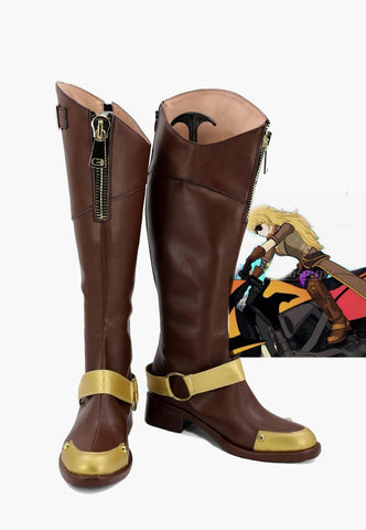 RWBY volume 4 Yang Xiao Longs Bottes Cosplay Chaussures