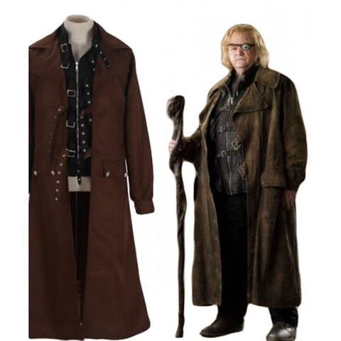 Harry Potter Alastor Moody Mad-Eye Cosplay Costume