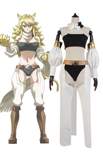 Akame ga KILL! Night Raid Leone Uniforme Cosplay Costume
