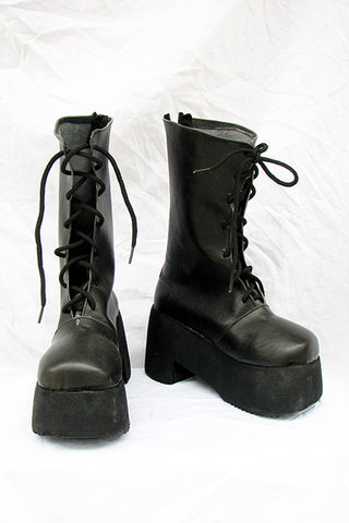 Fate Stay Night Saber Botte Noire Cosplay Chaussures
