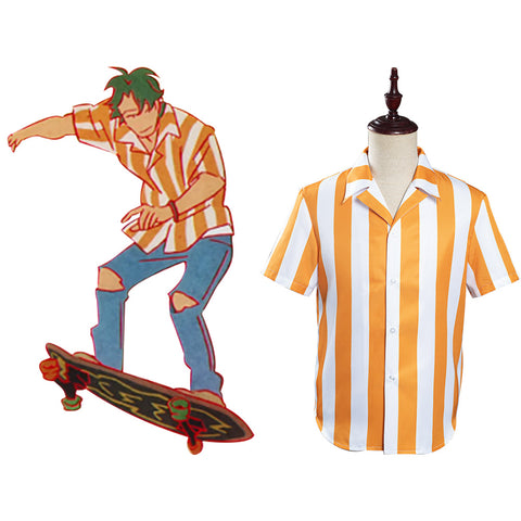 SK∞ SK8 the Infinity Joe Kojiro Nanjo Chemise Cosplay Costume