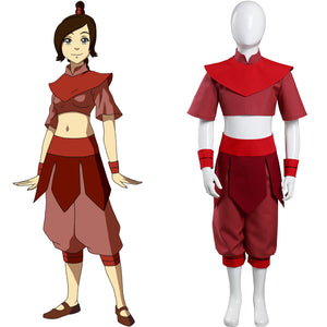 Avatar: The Last Airbender Ty Lee Enfant Cosplay Costume
