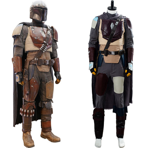 The Mandalorian Star Wars Mandalorian Cosplay Costume