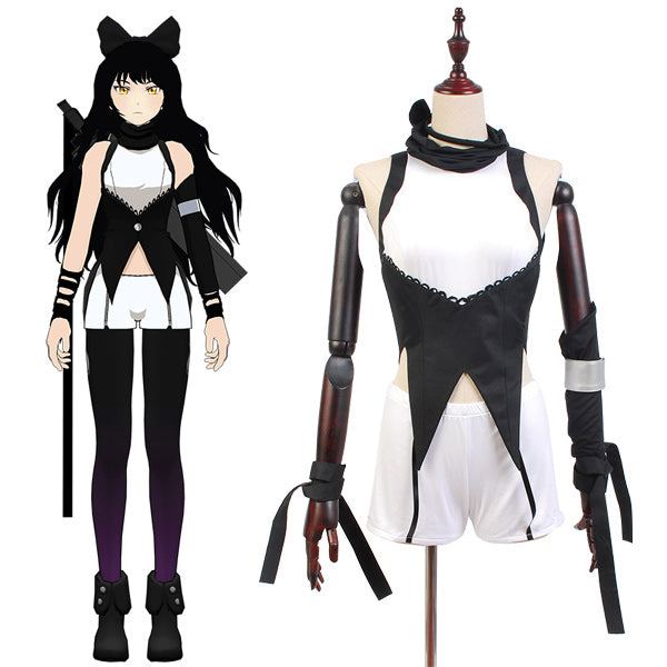 RWBY Blake Belladonna Uniforme Cosplay Costume