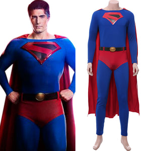 Crisis on Infinite Earths Superman Clark Kent Cosplay Costume