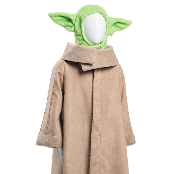 The Mandalorian -Baby Yoda Robe Chapeau Halloween Cosplay Costume