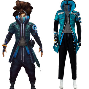 LOL League of Legends True Damage Yasuo Cosplay Costume