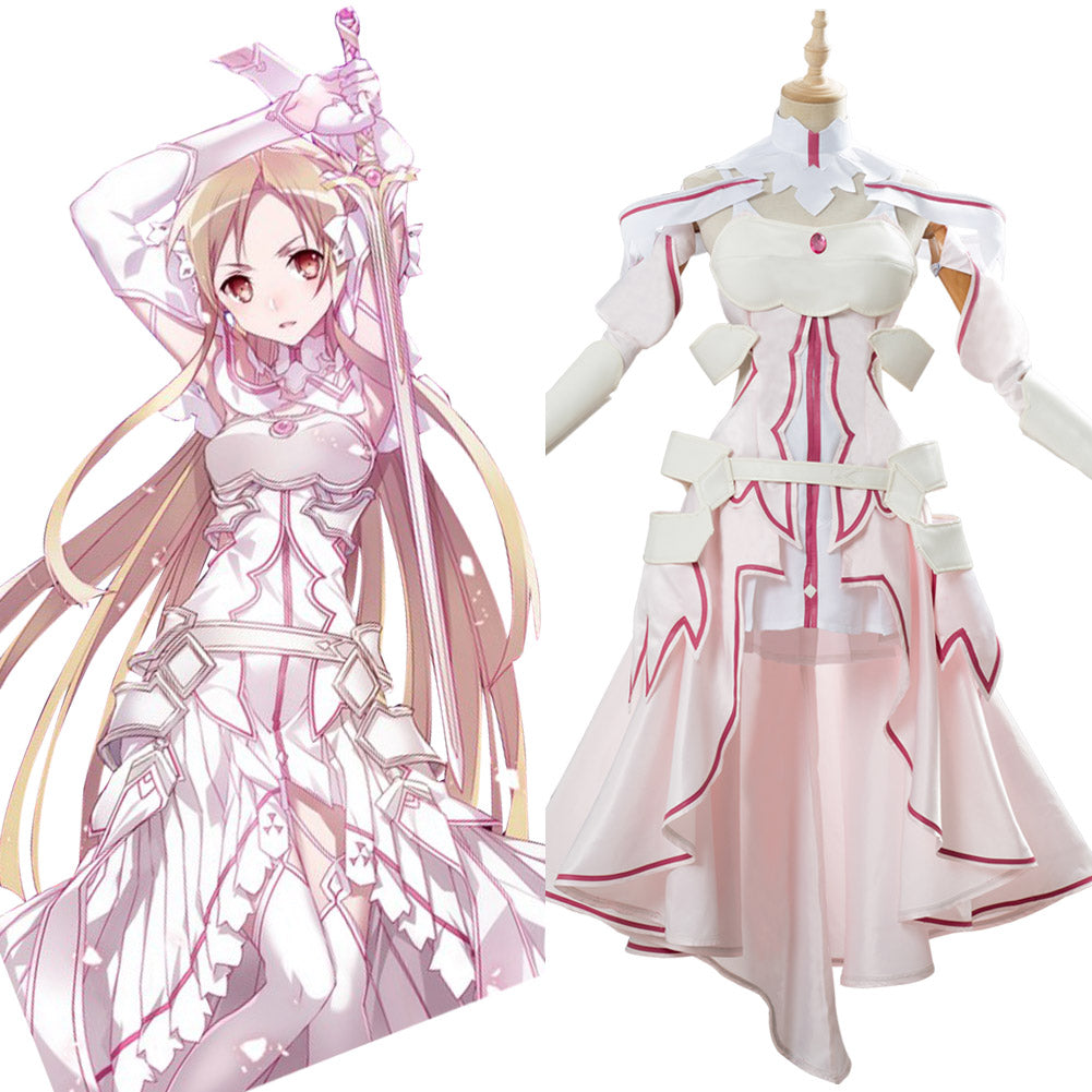 Sword Art Online Alicization Asuna SAO Cosplay Costume