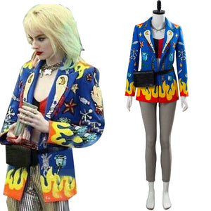 2020 Film Birds of Prey Harley Quinn Tenue Cosplay Costume
