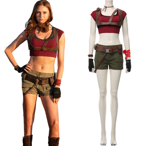 Jumanji The Next Level Ruby Roundhouse Cosplay Costume