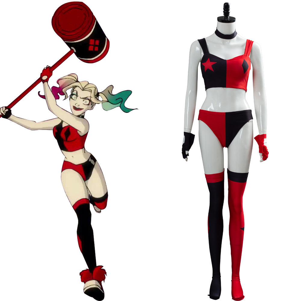 2019 TV Harley Quinn Cosplay Costume