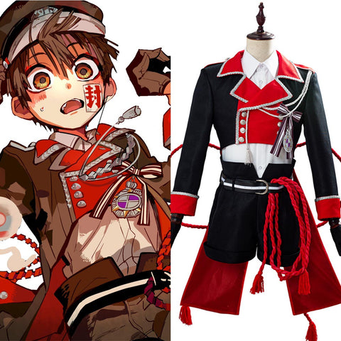 Jibaku Shounen Hanako-kun Hanako-kun Cosplay Costume Version 2