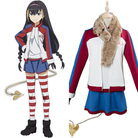 A Certain Magical Index Scientific Railgun 3 Lessar Cosplay Costume