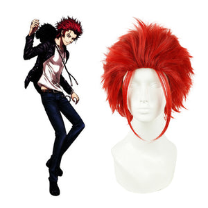 Anime K Suoh Mikoto Cosplay Perruque
