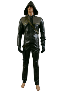 Arrow Oliver Queen Green Arrow Cosplay Costume d'Homme