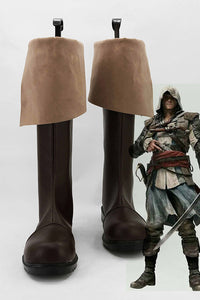 Assassin's Creed 4/IV: Black Flag Edward Kenway Cosplay Chaussures