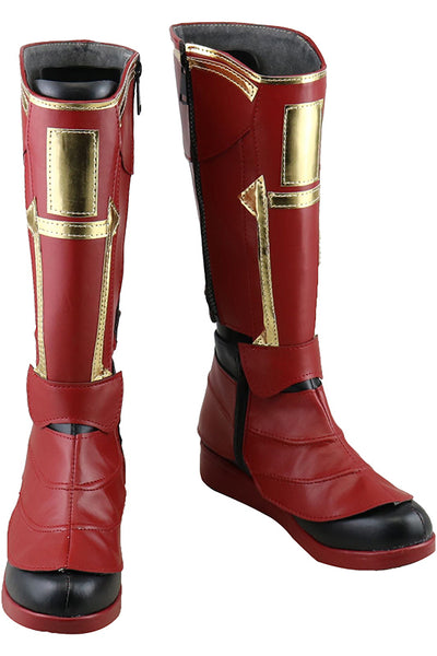 Avengers 4 Endgame Ms Marvel Captain Marvel Carol Danvers Cosplay Chaussures